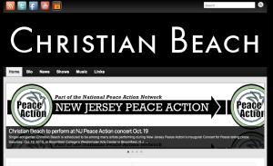 Christian Beach Web Site