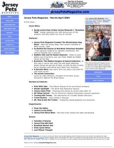 Jersey Pets Magazine - Version 2