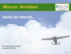 Mercer Aviation PPT