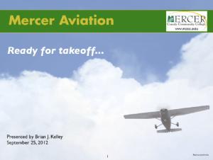 Mercer Aviation PPT