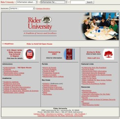 Rider Home Page 2003