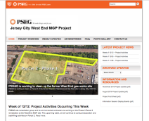 PSEG West End MGP Project Website
