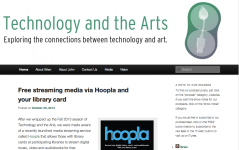 Technology and the Arts Web Site