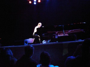 Ben Folds performs in Montclair, NJ, on 4/9/10