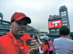 Me...after finishing the 2012 Phillies 5K