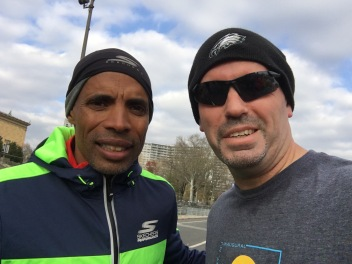 Meb Keflezighi and me