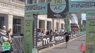 Approaching the finish line. Photo courtesy DelMo Sports/MyLaps.